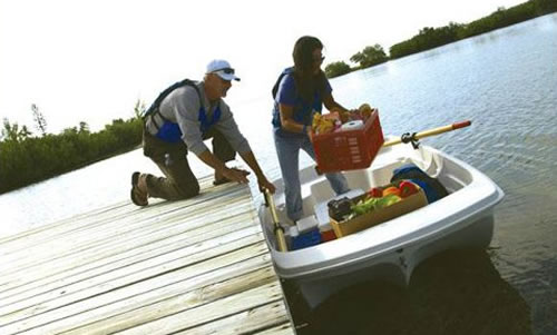 KL industries Sun Dolphin Water Tender Row Boat 3