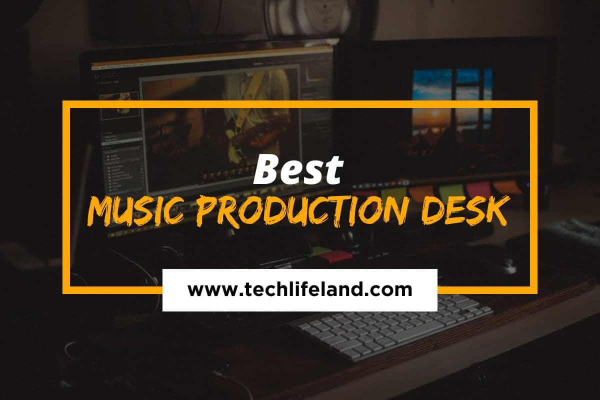 [Cover] Music Production Desk