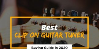 [Cover] Best Clip On Guitar Tuner