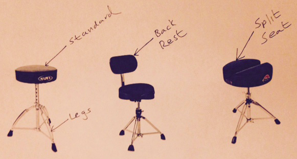 Drum Throne Parts