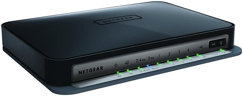 NETGEAR N750 Dual Band 4 Port Wi-Fi Gigabit Router WNDR4300