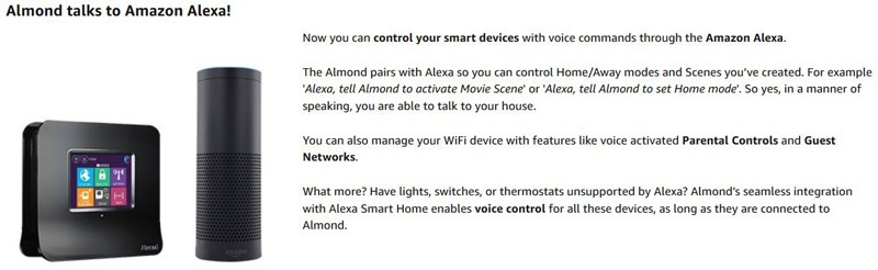 Securifi Almond Smart Home Touchscreen Talks To Amazon Alexa
