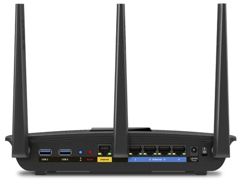 Linksys EA7500 Rear View