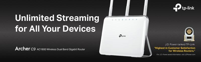TP-Link AC1900 Archer C9 Smart Wireless Router
