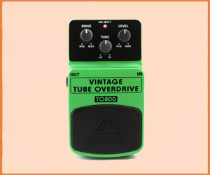 Best Guitar Overdrive Pedal for Beginners in 2019