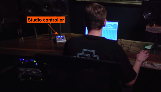 Plug Walk's producer with TheLabCook uses a studio controller. Lot's of professionals do.