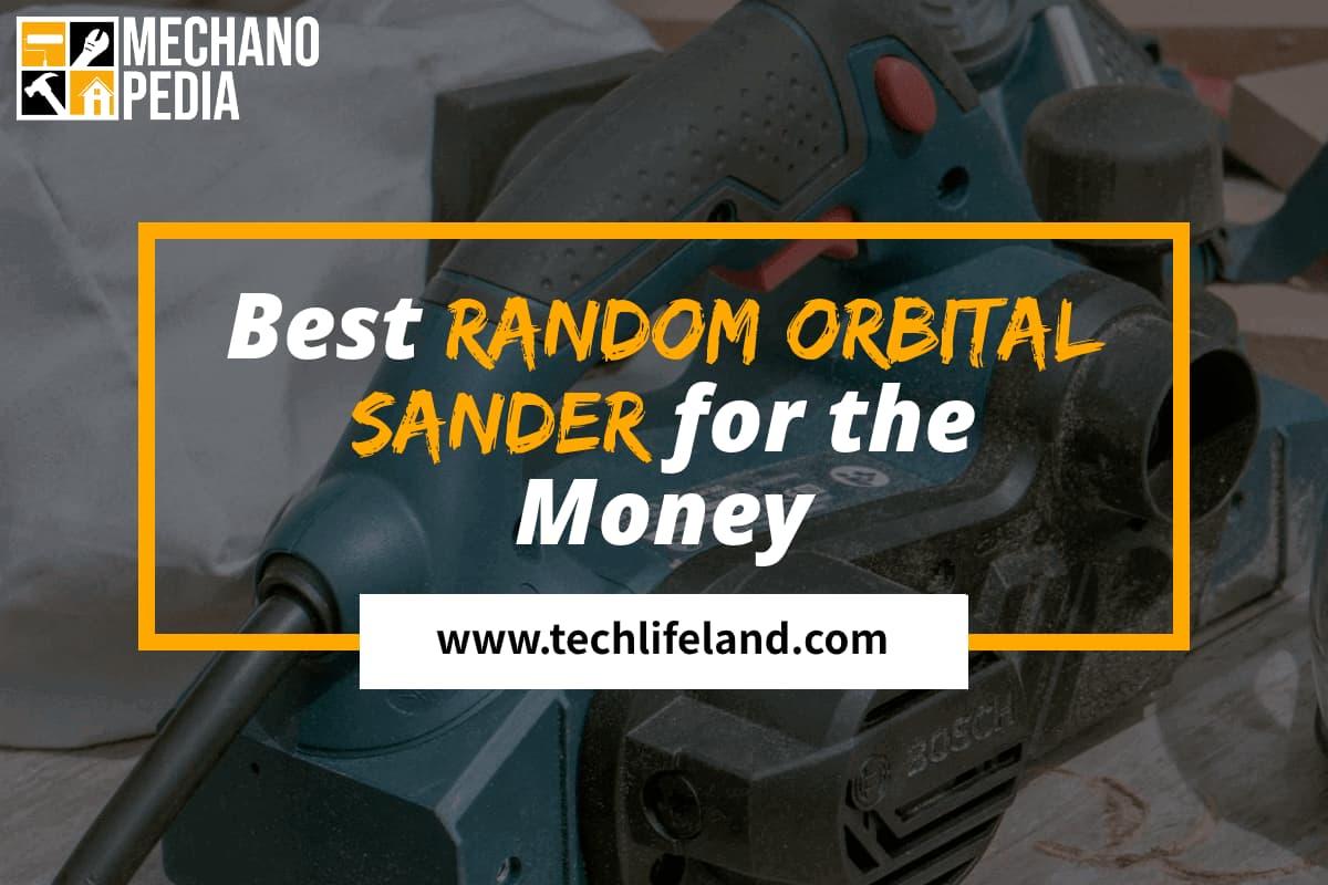 Bosch Orbital Sander 2.5 Amp 5-Inch Corded Variable Speed Random Polisher Kit