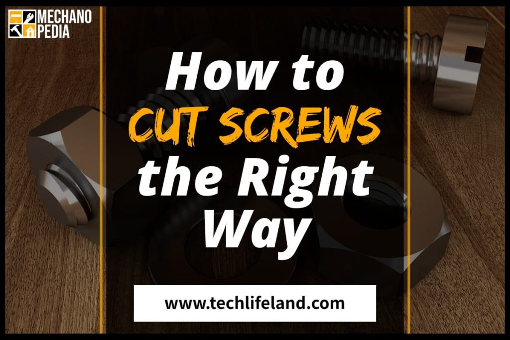 [Cover] How to Cut a Screw
