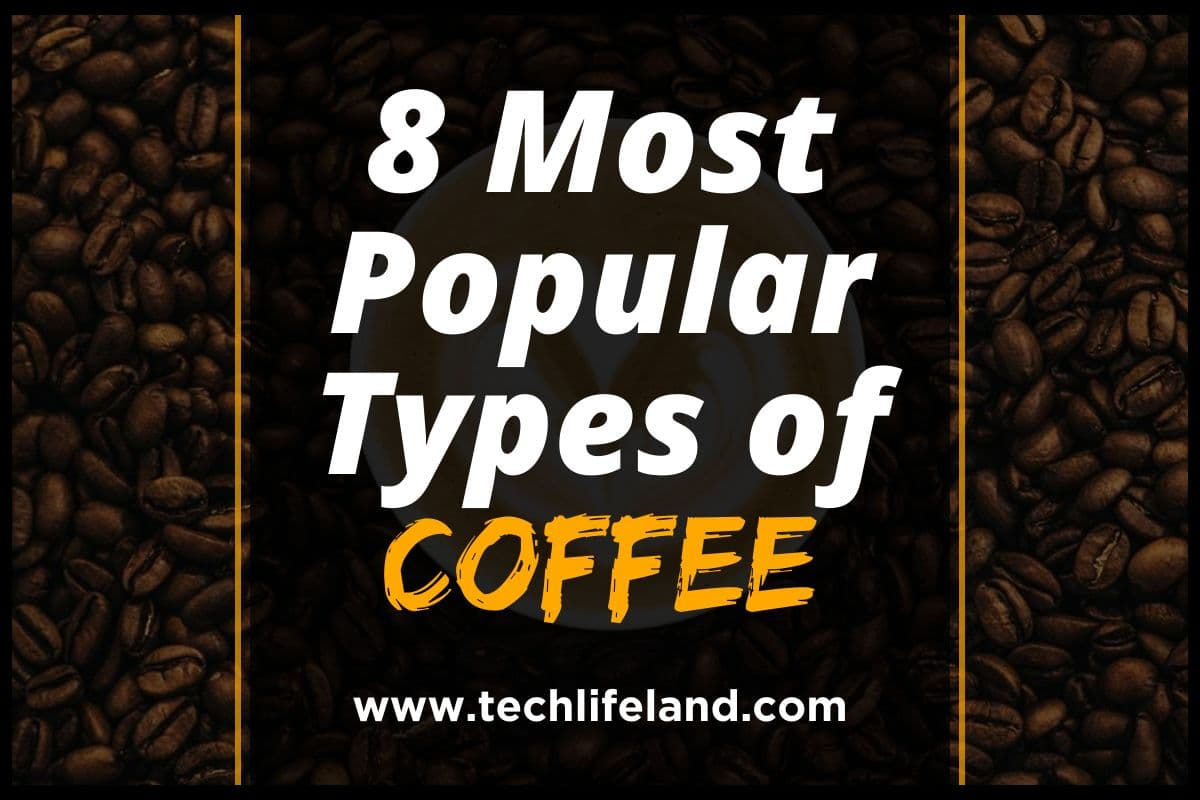 8 Most Popular Types of Coffee You Need to Know