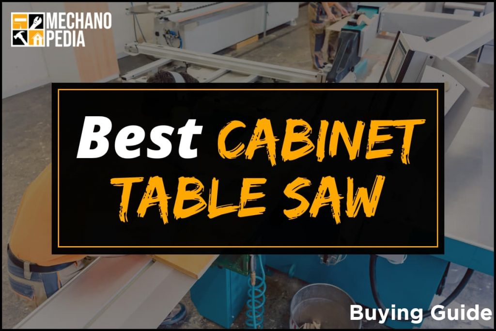 [BG] Best Cabinet Table Saw
