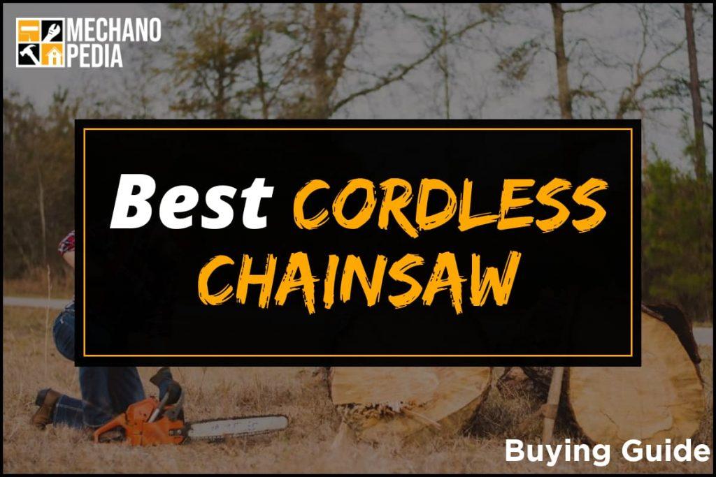 [BG] Best Cordless Chainsaw