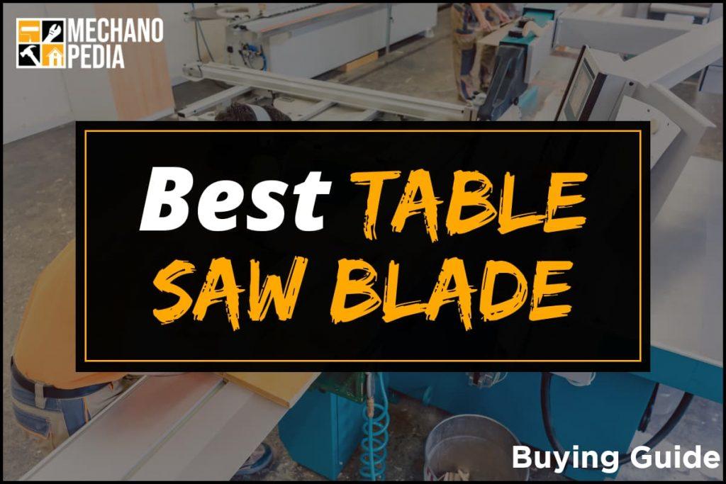 [BG] Best Table Saw Blade