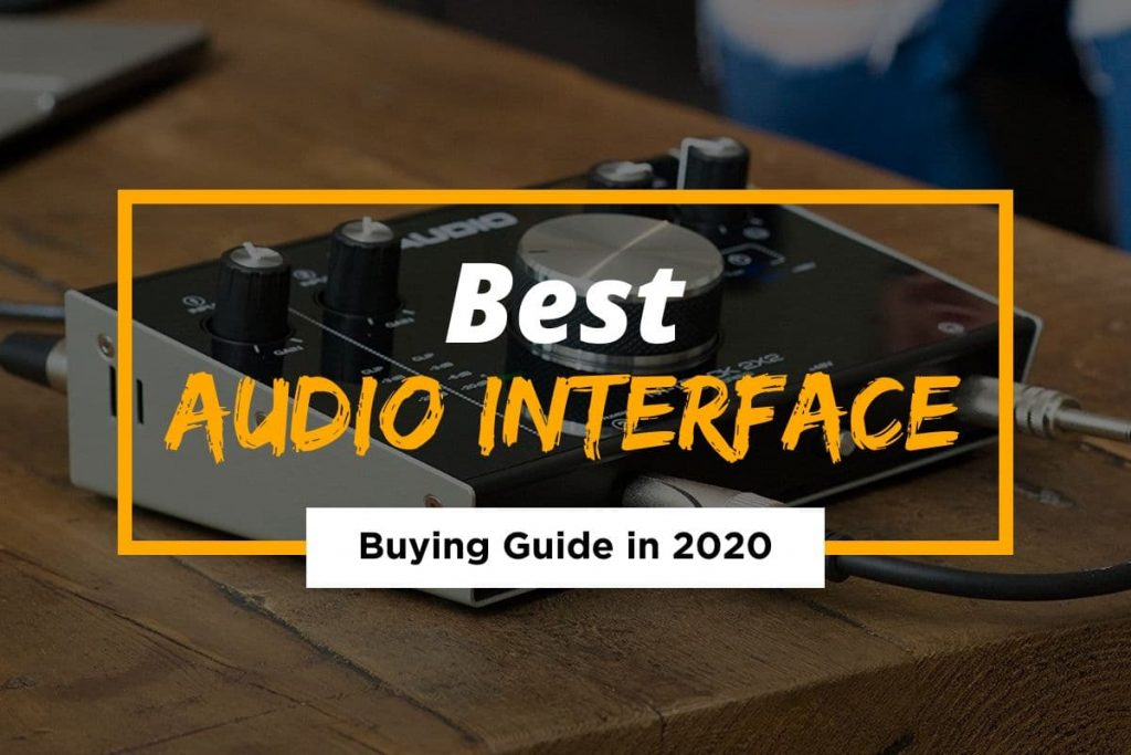 [Cover] Best Audio Interface