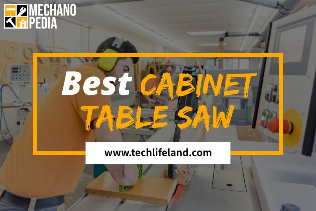 [Cover] Best Cabinet Table Saw