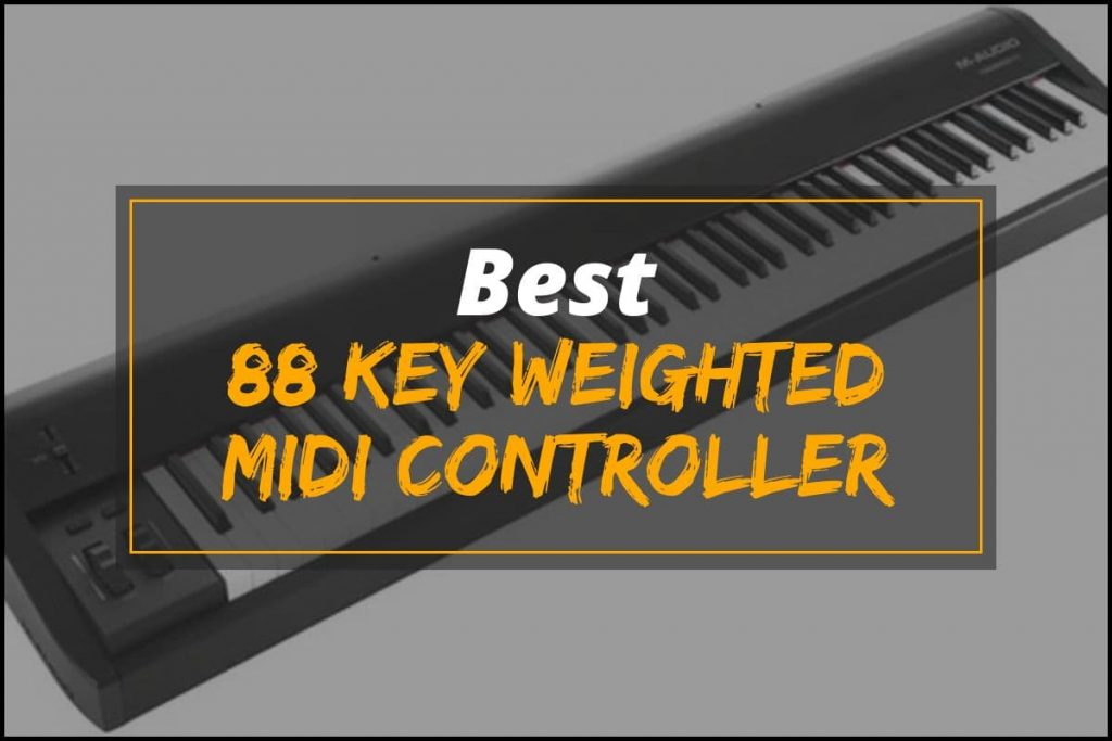 [Cover] 88 Key Weighted Midi Controller