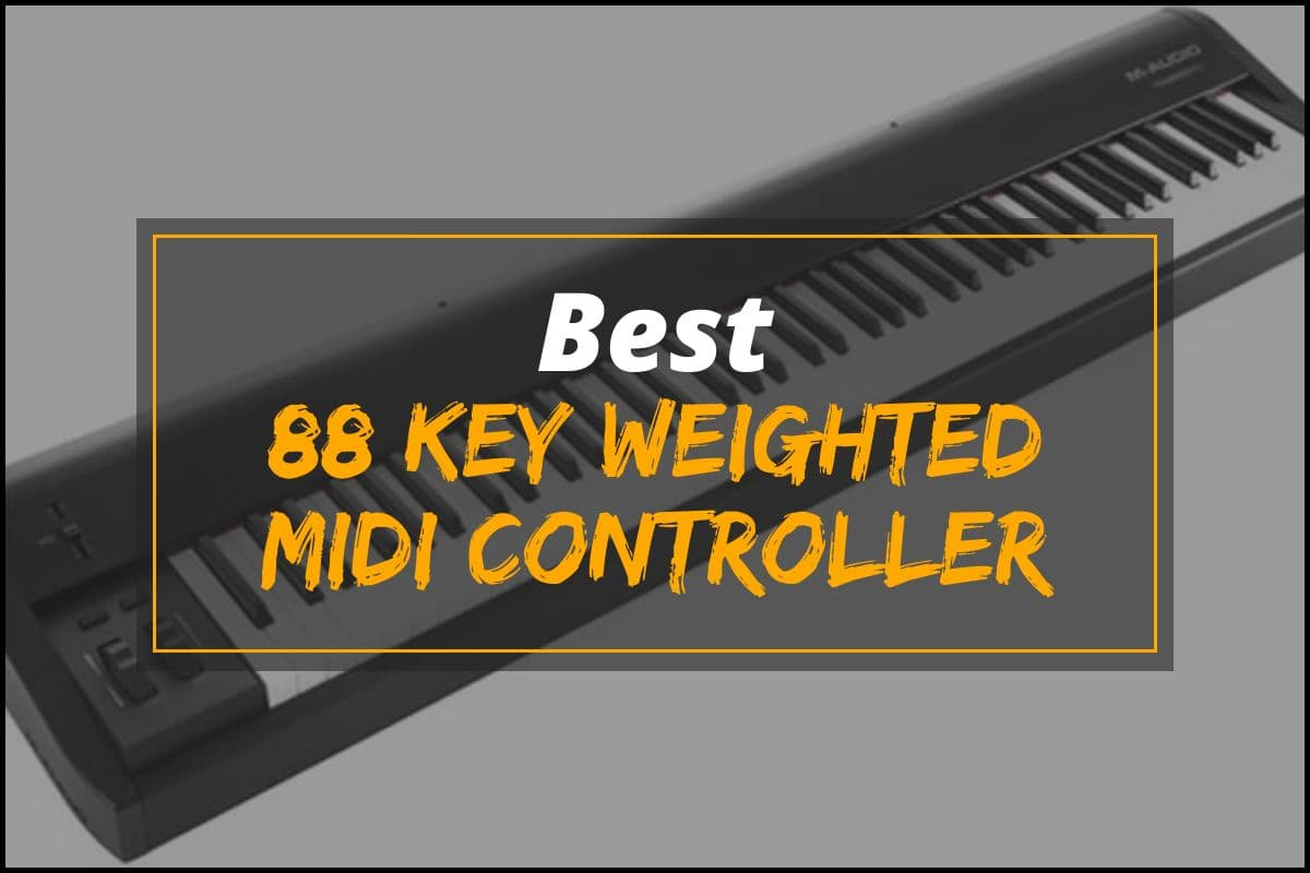 88 Key Weighted Midi Controller