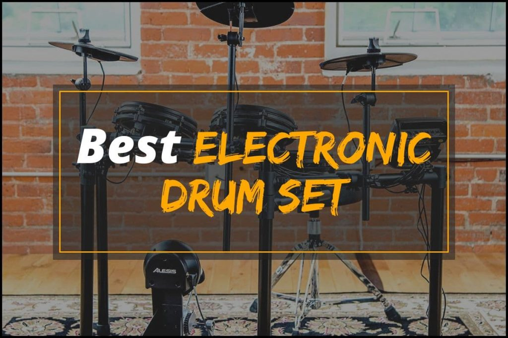 [Cover] Best Electronic Drum Set