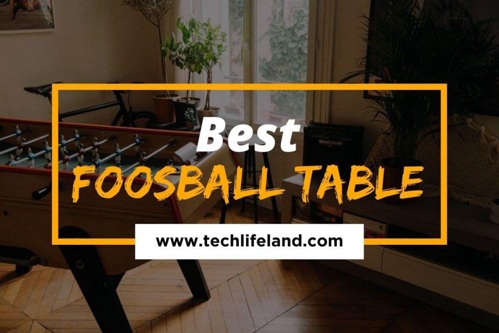 [Cover] Best Foosball Tables