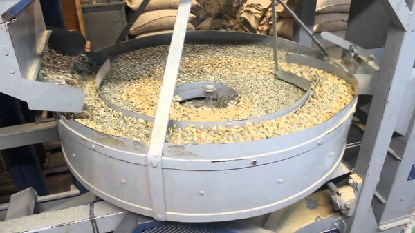 Coffee Milling- Coffee hulling process ,  Coffee polishing process