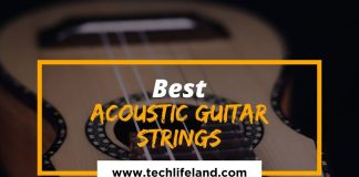 [Cover] Best Acoustic Guitar Strings