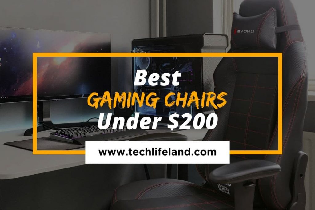 [Cover] Best Gaming Chairs Under 200