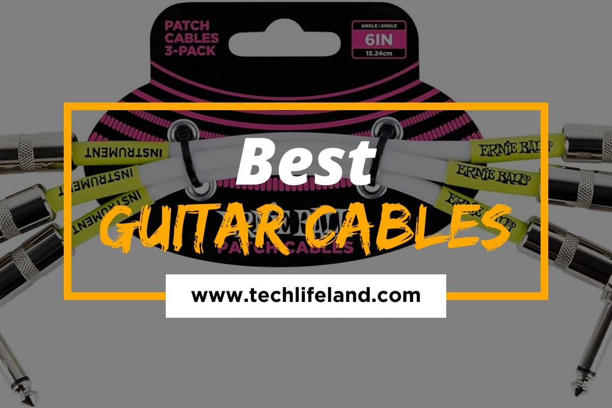 5 Best Guitar Cables in 2021