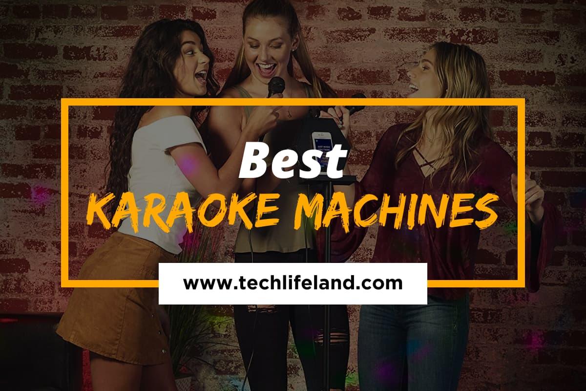 5 Best Karaoke Machines You Didn't Know