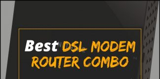 [Cover] Best DSL Modem Router Combo