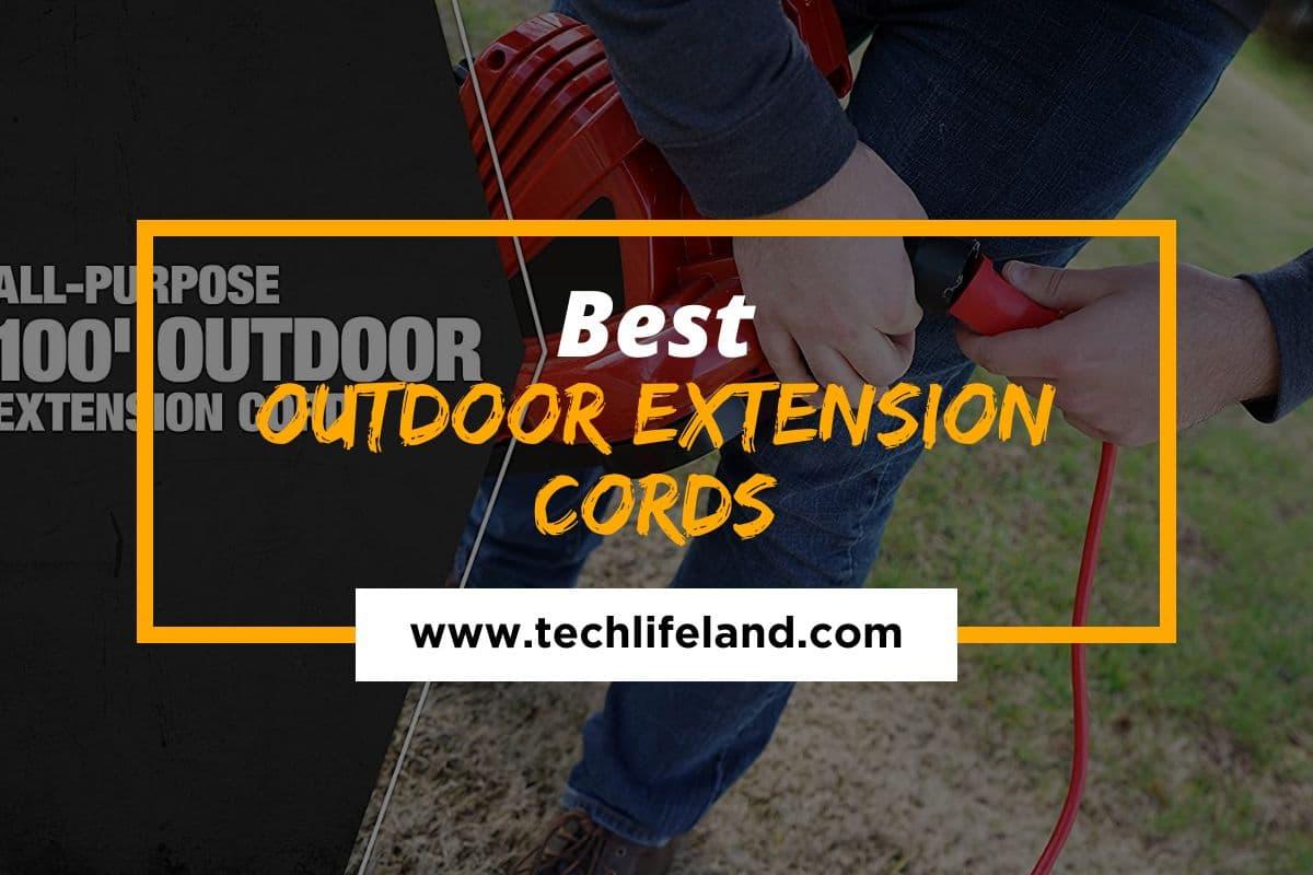Top 10 Best Outdoor Extension Cords