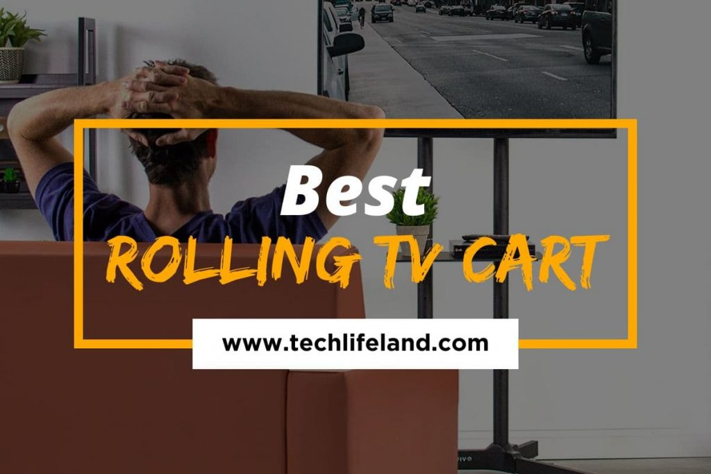 [Cover] Best Rolling TV Cart